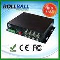Faible coût fiber optique audio vidéo media émetteur récepteur