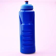 1liter Portable Blue liquor measurement squeeze sport cheap printed water bottles