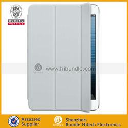 for iPad Mini smart cover leather case