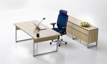 Metallic desk legs