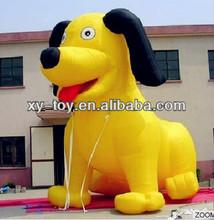 Advertising custom inflatable dog,giant inflatable dog,inflatable hot dog promotion