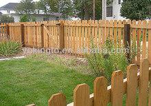 wooden fence for garden