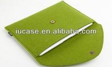 "Premium Gift Wool Felt Laptop Neoprene Sleeve for MacBook Air Pro 11"" 13"" 15"" Laptop bag"