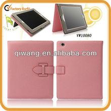 Pink PU Portfolio for iPad mini 1 , 2