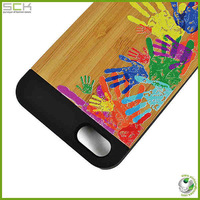 Wood case for apple iphone 5