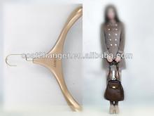 luxury wooden hanger for clothing designer
