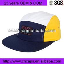 5 Panel Black Label Navy Camp Hat Cap Headwear Surf Skate Snow