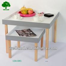Space saving coffee tables