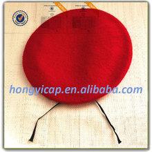 Moda Beret for Girls Hot Sales moda Red boinas com fábrica de preço barato Muti cores disponíveis