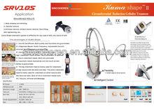 KUMA Shape V8 Velashape Syneron vela Beijing Sincoheren body slimming body shaping beauty equipment CE FDA vacuum luna stacker