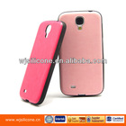 Fashion Cheap TPU Case IMD PU Surface for Samsung S4