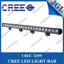HIGH POWER JGL CREE 220W LED LIGHT BAR,CREE 10W*22 PCS 4x4 LIGHTBAR,OFFROAD DRIVING HEADLIGHT