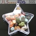 النجمة-- مفتوحة على شكل البلاستيك للزينة عيد الميلاد الكرة