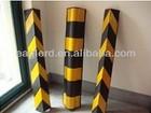 Heavy Duty Rubber Corner Guard/Reflective flexible wall corner protector