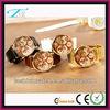 Customize waterproof elegance gold unisex vintage design fashion lady wrist watches