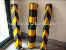 Heavy Duty Rubber Corner Guard/Reflective flexible car parking corner protector