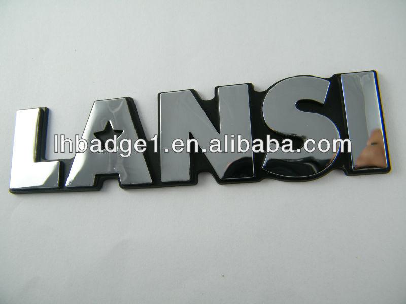 ABS car label,brand car label,custom car emblem