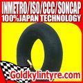 90/90-12 cámaras de aire para neumáticos de la motocicleta de neumáticos