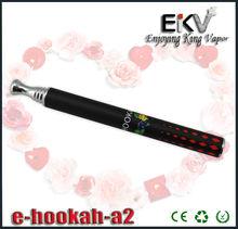 Christmas Gifts disposable e cigarette battery powered electronic shisha e hookah design for distributors