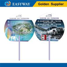 assorted advertising hand fan/plastic hand fan (CF006)