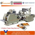 High Speed Fully Automatic Brown Paper Bag Making Machinery used in Super markets, Shopping malls, Hotels, etc.