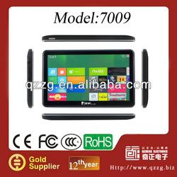 2012 new safe 7 Inch Touch Screen GPS Navigator (FM Transmitter, Bluetooth