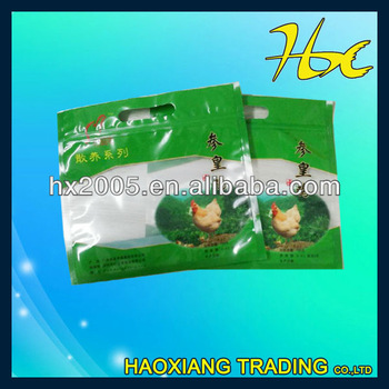 vacuum sealing zip lock plastic bags for frozen chicken