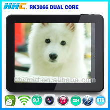 H9702 9.7inch tablet 10point touch screen android RK3066 wifi MP3 angry of birds web camera buy chinese products online