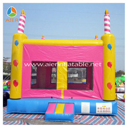 Inflatable bouncy bounce