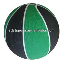 multi-colors rubber basketball