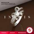 Atractivo entrega rápida piedras preciosas para anillos de graduación R365
