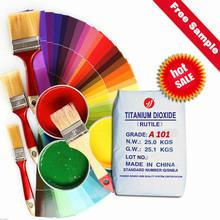 original raw materials anatase tio2 A101 interior wall emulsion paints and color coats