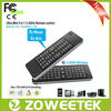 Remote Control Mini QWERTY 2.4G Wireless Mouse Keyboard for Android TV Box with Voice Function Multifunctional