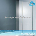 glass folding shower screen