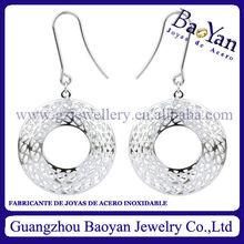 new arrival silver plating dangle earring ear warmers