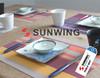 Hot Selling Abti-Slip Plastic mat Table mat / Place mat