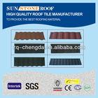 Eco Ceramic Stone Coated Steel Asphalt Roof Tiles Manufacturers
