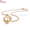 Necklace 2013 alloy gold plated silver necklace for men