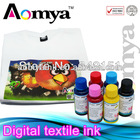high quality reactive ink for digital textile printing on silk polyamid and wool