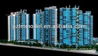 HO Z scale lighting hotel&tower model/commerical model/exhibition modeling