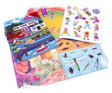 FUNZTIC l Self-Adhesive Children Stickers & Sticker Books