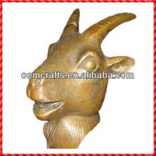Nouveau venir personnalisé chinois résine or chèvre quotidienne amour horoscope