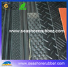 industrial rubber floor mat with various patterns