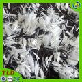 Fibra de plástico de fibra de poliéster fibra de concreto