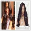 Hot sale! Mass Stock! Wavy Lace front Wig Human Hair Wig Wavy 100% Malaysian Virgin Hair Wigs 26inch #1b for Black Women