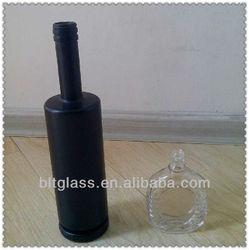alibaba china 100ml and 800ml black vodka glass wine bottle