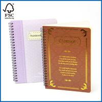 Spiral Notebook Student Planner Hardcover Notebook