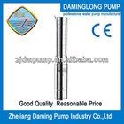 portable high pressure water pump 4SPD522-2.2kw 3hp 139m head