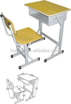 Good quality cheap primary school furniture(YA-008)