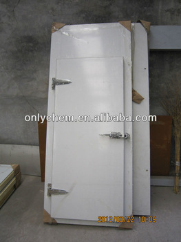 different new type and easy installed assembling blast freezer room door for meat,fish,chicken,beef